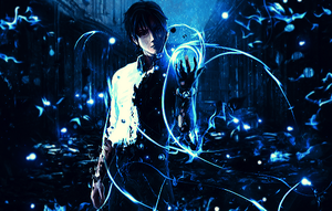 Gantz Blue Power by Awakening-Scarlet