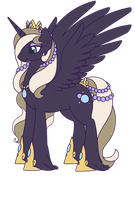Custom Pony:  Miracle Pearl by Crystal-Comb