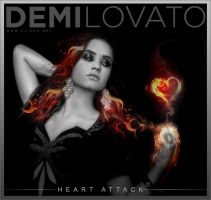 Demi Lovato Heart Attack Cover Design by olieng