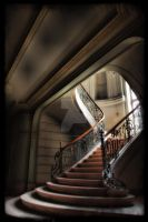 Chateau du Loup - Stairs by DimitriKING