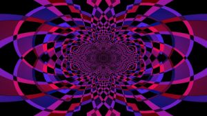Pink and Purple Abstract by JanetAteHer