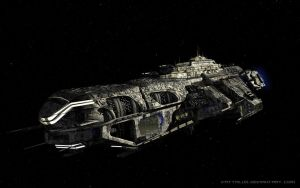 Valkyrie Heavy Cruiser by Vattalus