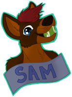 Sam Badge by CursedFire