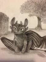 Toothless by KittieCakes