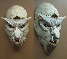 Dasypus Mask 05 by ClaudioTurcovich