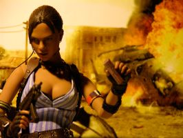 Resident Evil 5 - Lethal Sheva by Riebeck