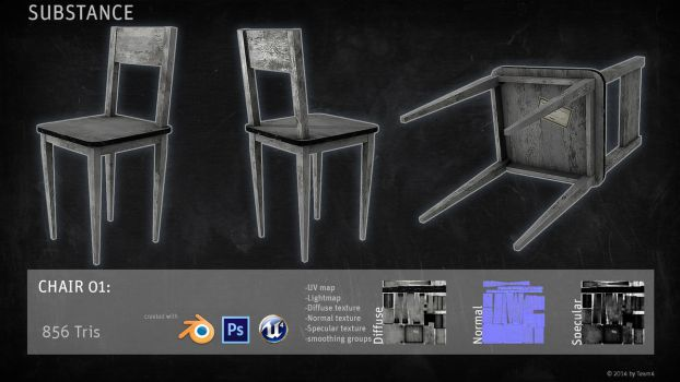 SUBSTANCE Prop: Chair by shcadeYuVE