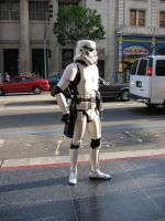 Stormtrooper on Hollywood Blvd by hitokirivader