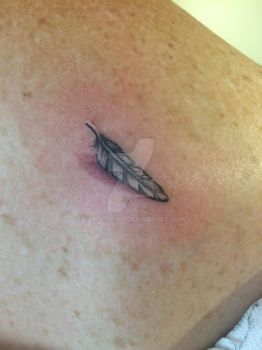 Feather by Tattoofish