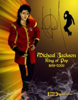 Michael Jackson King of Pop by TWStatonGallery