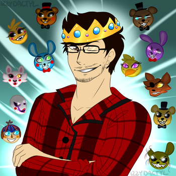 The KING of FNAF by Izzydactyl