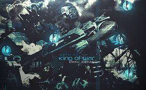 king of war by Dark-Tekar