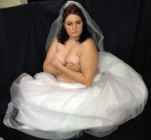 Topless Bride 4 by Nept