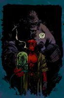Hellboy Garry Brown by SpicerColor
