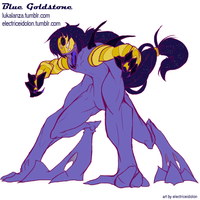 Gemsona Week- Collab Fusion by ElectricEidolon