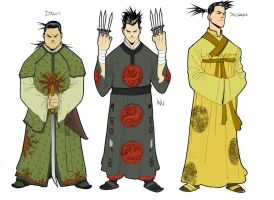Characters the Cheng Brothers by taguiar