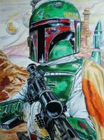 Boba Fett by Thelostsoulofpop