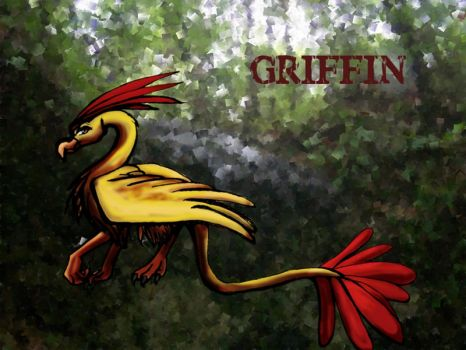 Griffin Wallpaper by ryupower