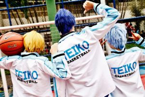 Teiko's Generation of Miracles by OsirisMaru