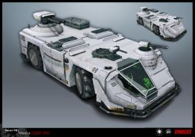 SYNDICATE concept - vehicle APC by torvenius