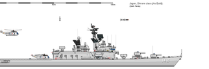 JMSDF DDH 143 Shirane 1980 by darthpandanl