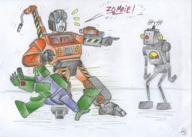 Zombie-Bot by LadyScale