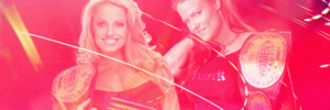 Lita and Trish Stratus Banner by TheSoulOfTheSouless