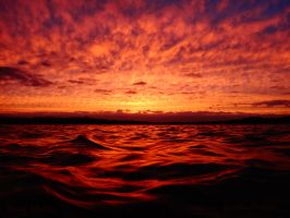 Sky on Fire by PaddleGallery