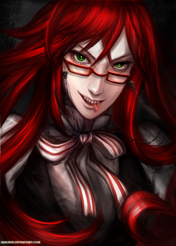 :: Grell Sutcliff :: by Sangrde