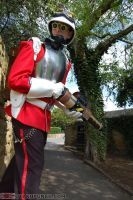 Steampunk Redcoat by Leadmill