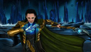 Loki by Rock-n-Roll-Tragedy