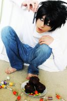 L Cosplay~Death Note by TheKeiMan