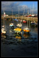 Port St Mary Harbour by Gilly71