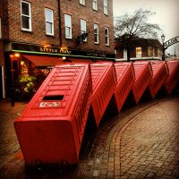 :Postboxes in Kingston London: by hush-janiz15