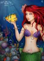 Little mermaid 2 by maxicarry