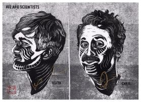 We Are Scientists *Signed* by JackSephton