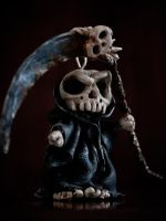 Chibi Reaper Sculpt by QuinapalusTheFool