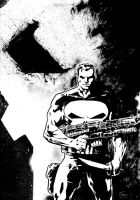 The Punisher by tomcrielly