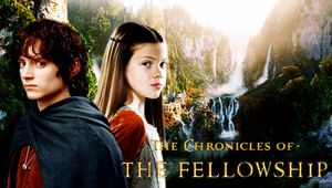 The Chronicles of the Fellowship - Lucy and Frodo by Lily-so-sweet