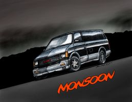 GMC Monsoon concept - storm by wannabemustangjockey