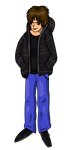 New DeviantID - Cartoonified me. by UltimateIfrit