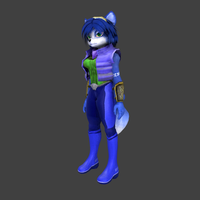 A certain blue character by JackThorn24