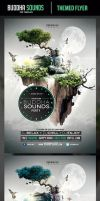 Buddha Sounds Flyer Template by odindesign