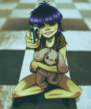 Noodle Mathilda by EddieHolly