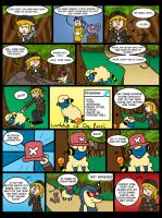 Subway's Nuzlocke Page 2-4 by Kame-Ghost