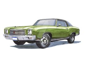 71 Monte Carlo SS 454 by ab39z