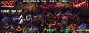 SATURDAY MORNINGS FOREVER: BEAST WARS PREDACONS by WOLVERINE25TH