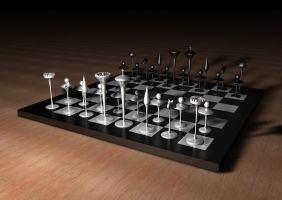 Chess Design III by JPLedoux