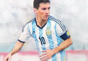 Lionel Messi by ekota21