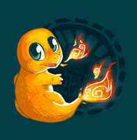 Charmander for Chely by madeinCOLOUR